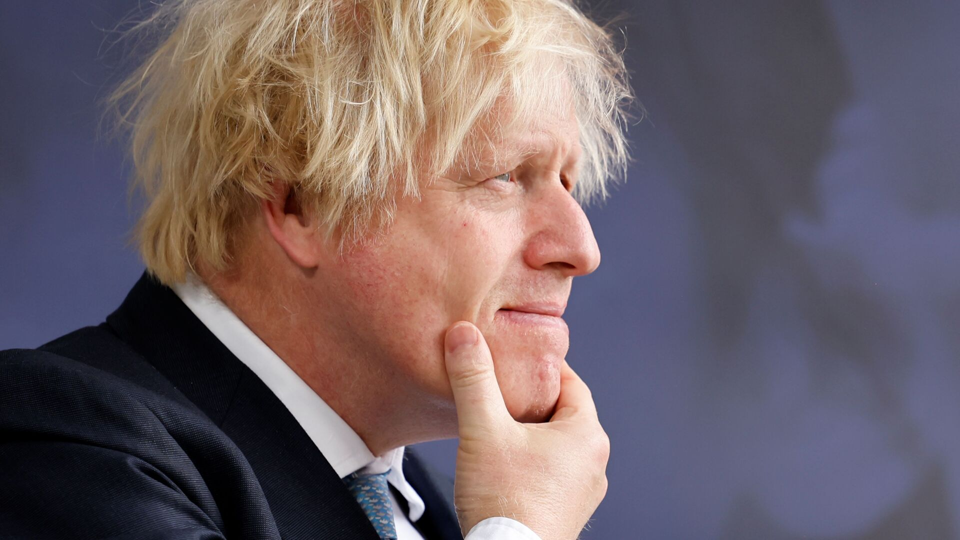 Britain's Prime Minister Boris Johnson arrives on the second day of the Global Education Summit in London, Britain July 29, 2021 - Sputnik International, 1920, 13.10.2021