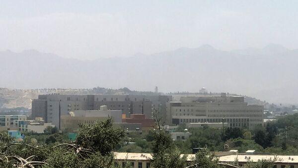 A general view of the U.S. embassy in Kabul, Afghanistan, August 15, 2021. - Sputnik International