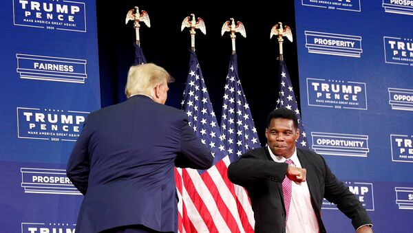 FILE PHOTO: President Trump delivers remarks on Black Economic Empowerment during an event at the Cobb Galleria Centre in Atlanta - Sputnik International