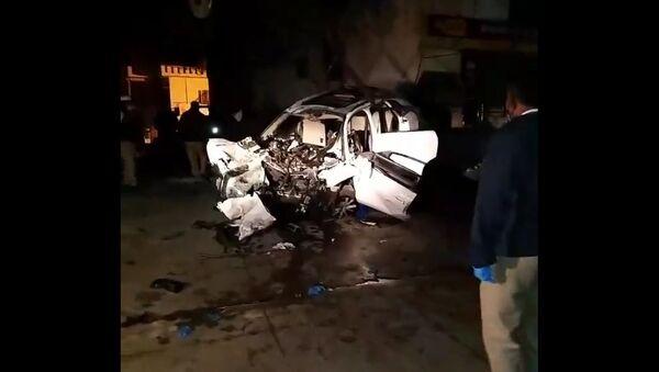 7 people died in car accident in Koramangala, Bengaluru - Sputnik International
