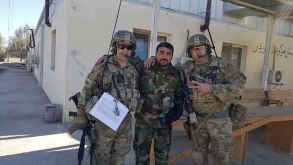 Nasir just shared a picture of his brother working with US forces - Sputnik International