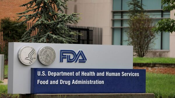 Signage is seen outside of the Food and Drug Administration (FDA) headquarters in White Oak, Maryland, U.S., August 29, 2020 - Sputnik International
