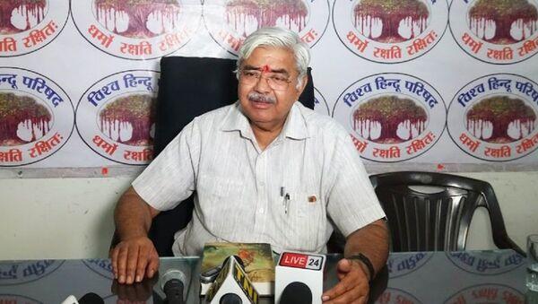 Vishva Hindu Parishad International President Alok Kumar - Sputnik International