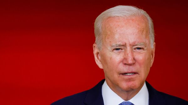 U.S. President Biden speaks about Afghanistan at the White House in Washington - Sputnik International