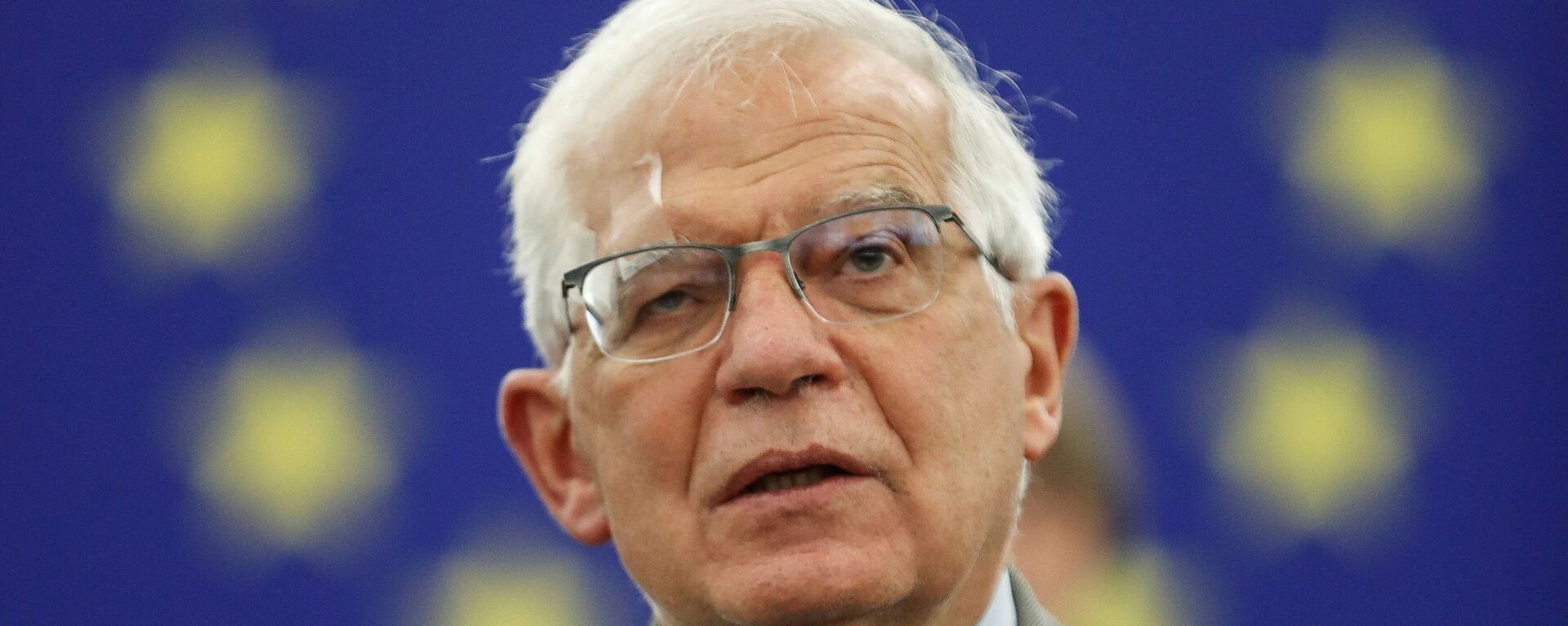 FILE PHOTO: Josep Borrell, vice president of the European Commission in charge of coordinating the external action of the European Union, delivers a speech at the European Parliament, in Strasbourg, France, June 8, 2021 - Sputnik International, 1920, 08.09.2021