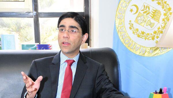 Dr. Moeed Yusuf NSA Pakistan - Sputnik International