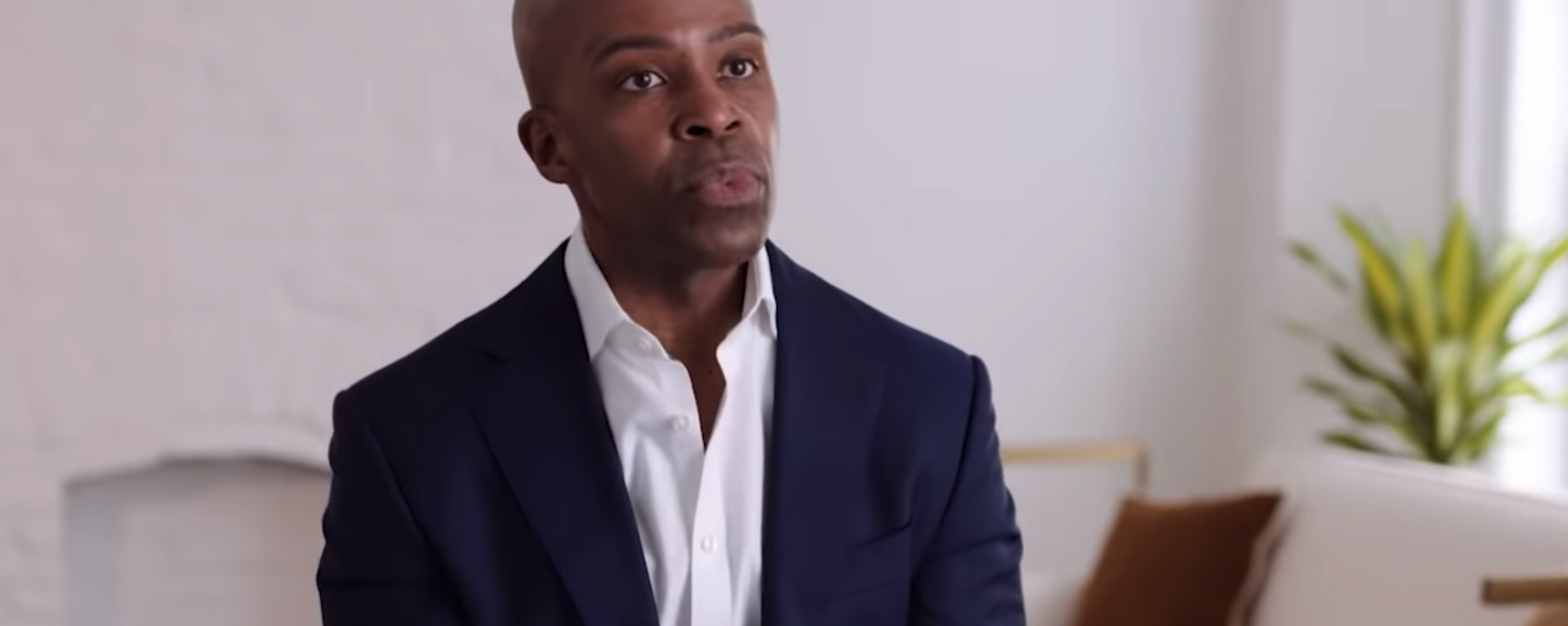Screenshot captures image of Human Rights Campaign President Alphonso David, who was recently enveloped in the Andrew Cuomo scandal after being named in the independent sexual harassment report. - Sputnik International, 1920, 06.09.2021