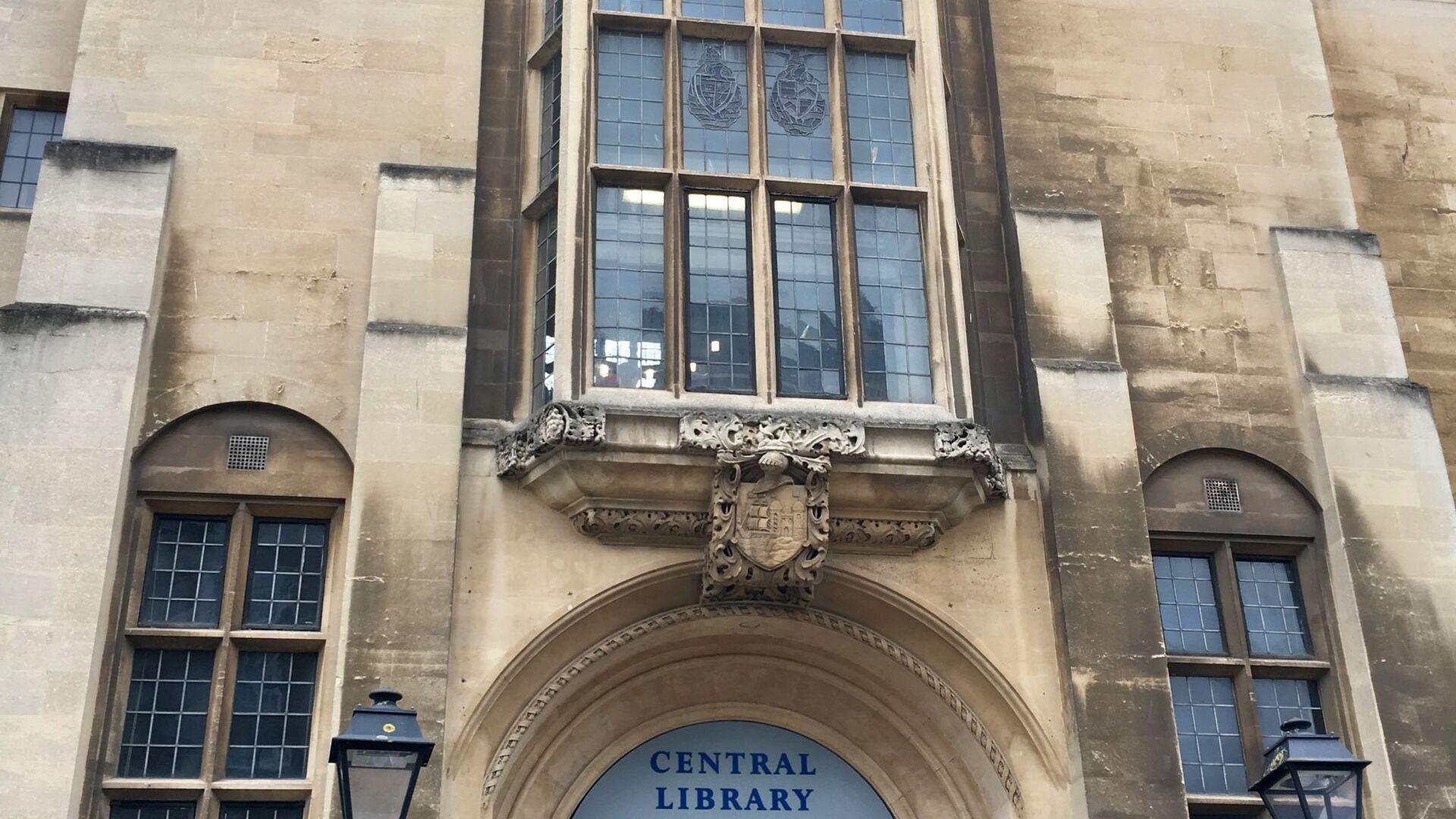 Bristol Central Library. - Sputnik International, 1920, 06.09.2021