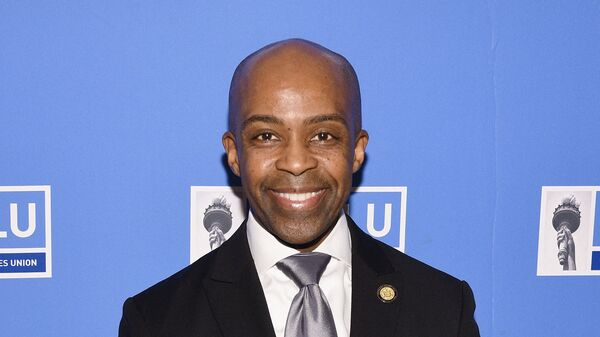 Chief Counsel to the Governor of New York, Alphonso David attends NYCLU's Broadway Stands Up For Freedom concert We The People on October 15, 2018 in New York City. - Sputnik International