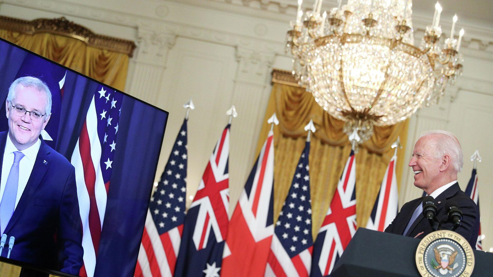 President Biden delivers remark on National Security at the White House  - Sputnik International, 1920, 24.09.2021