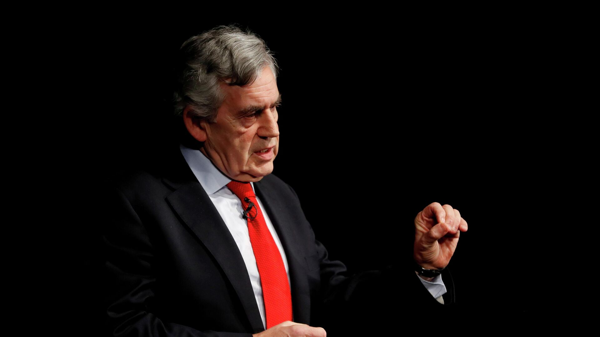 Britain's former Prime Minister Gordon Brown speaks at an event in Edinburgh, Scotland, Britain January 17, 2019. - Sputnik International, 1920, 20.09.2021