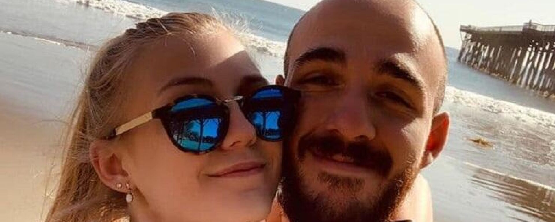 An Instagram photo of missing woman Gabrielle Petito and her boyfriend Brian Laundrie on March 18, 2020 - Sputnik International, 1920, 22.09.2021
