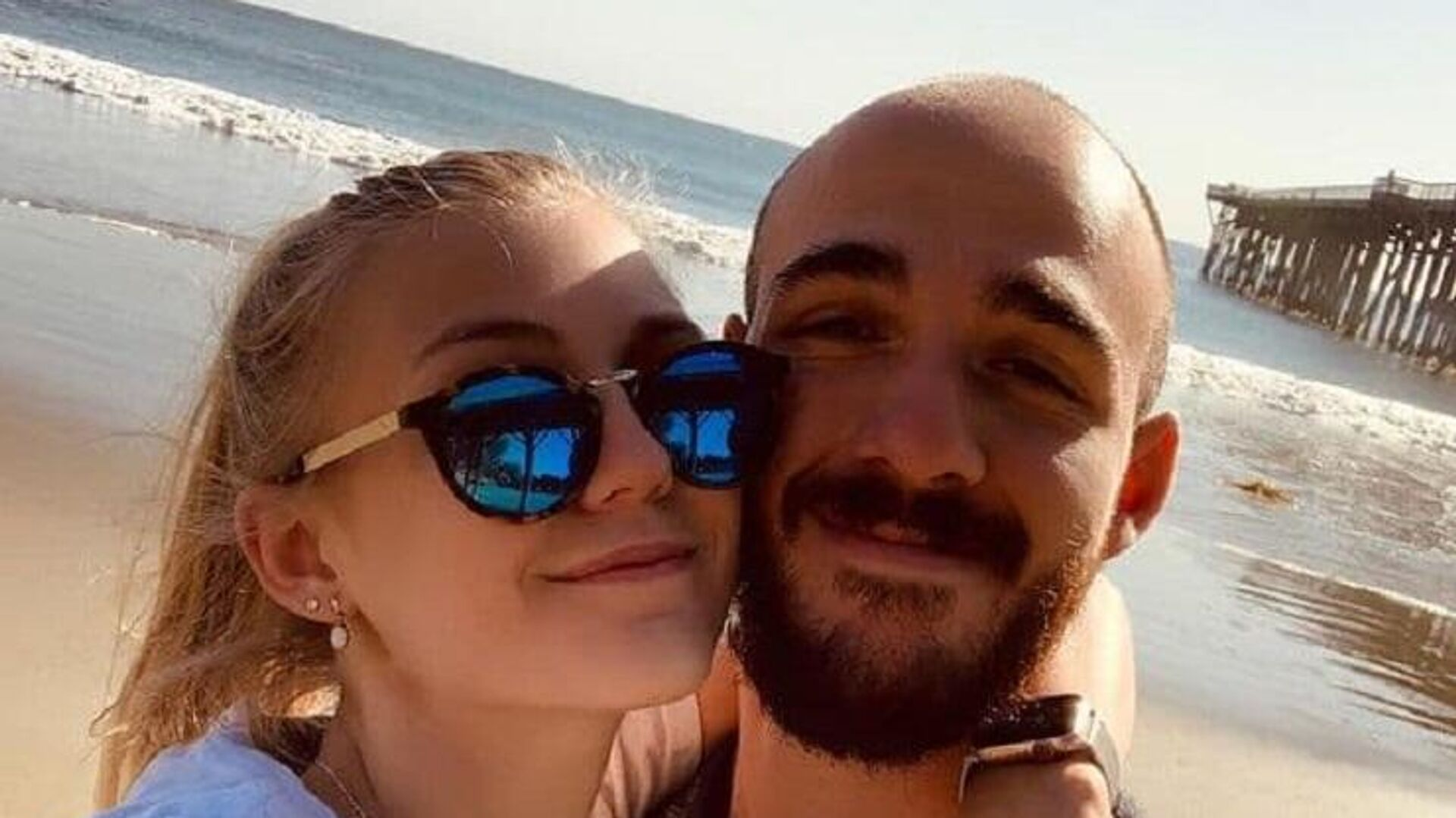 An Instagram photo of missing woman Gabrielle Petito and her boyfriend Brian Laundrie on March 18, 2020 - Sputnik International, 1920, 21.09.2021
