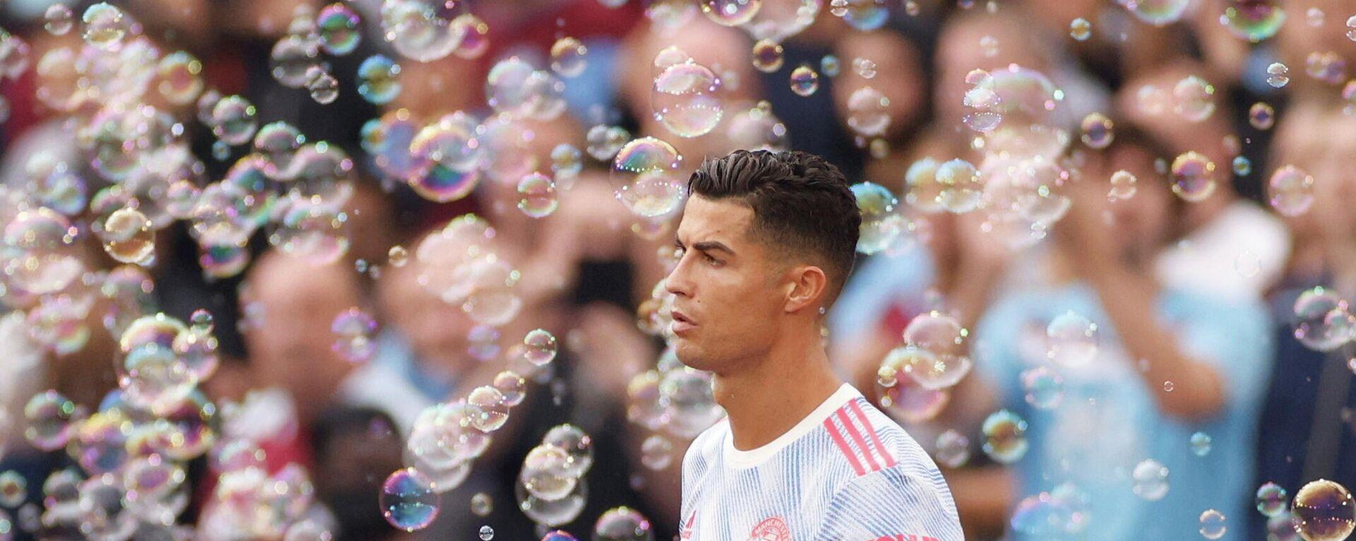 2021 Manchester United's Cristiano Ronaldo before the match - Sputnik International, 1920, 22.09.2021