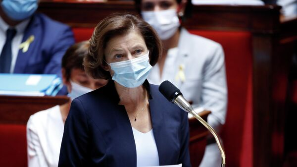 French Defence Minister Florence Parly speaks during the questions to the government session at the National Assembly in Paris, France, September 21, 2021. - Sputnik International