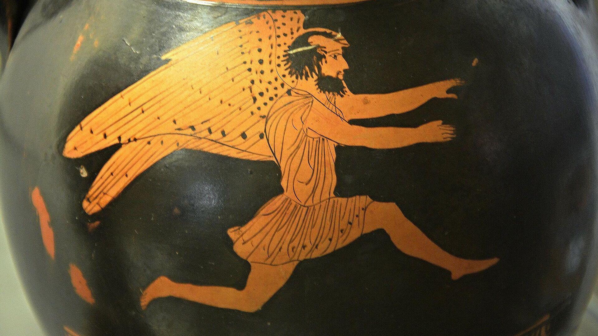 Boreas (Greek god of the north wind and winter)  - Sputnik International, 1920, 23.09.2021