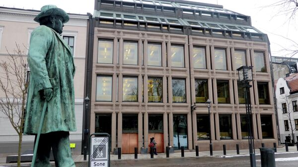 A general view of the Norwegian central bank, where Norway's sovereign wealth fund is situated, in Oslo, Norway, March 6, 2018 - Sputnik International