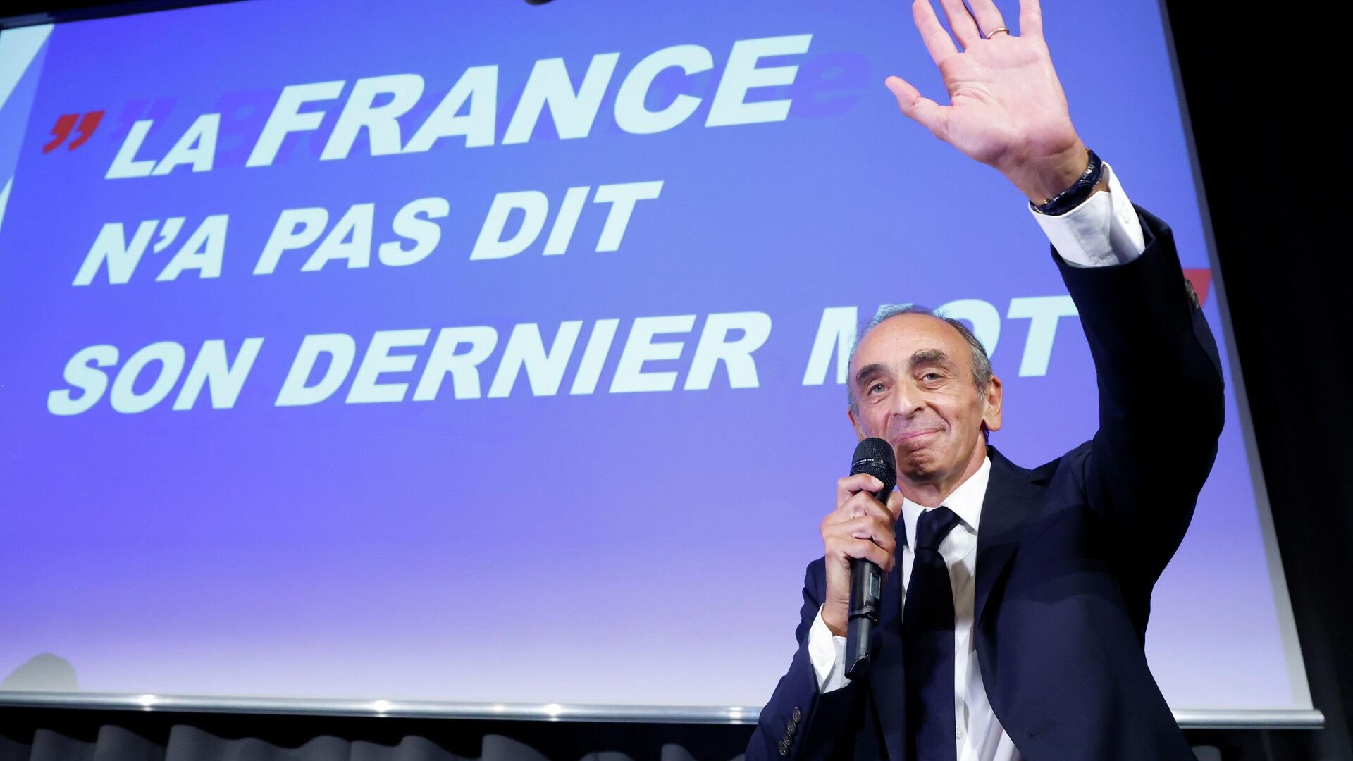 Far-right French commentator Eric Zemmour attends a meeting for the promotion of his new book La France n'a pas dit son dernier mot (France has not yet said its last word) in Nice, France, September 18, 2021. - Sputnik International, 1920, 27.09.2021