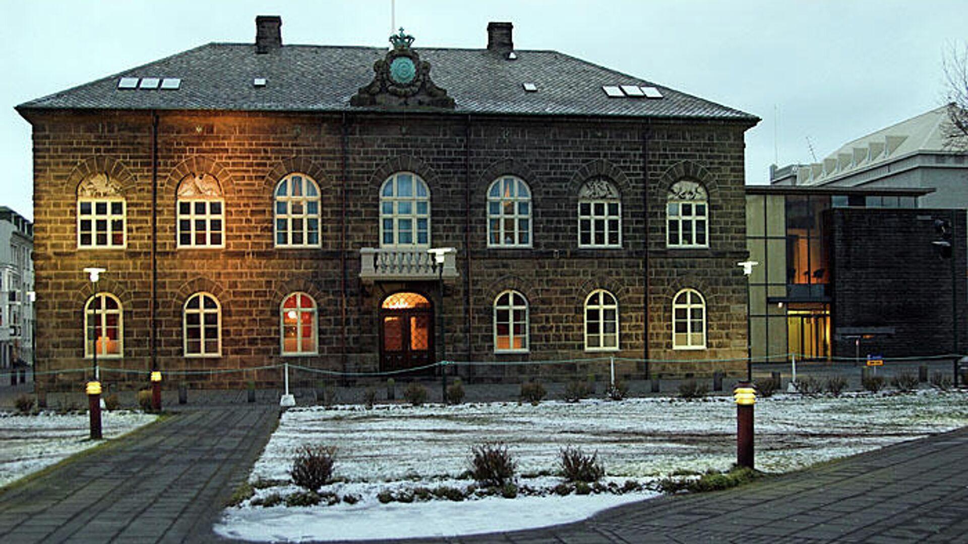 Parliament Building in Reykjavík, Iceland - Sputnik International, 1920, 28.09.2021