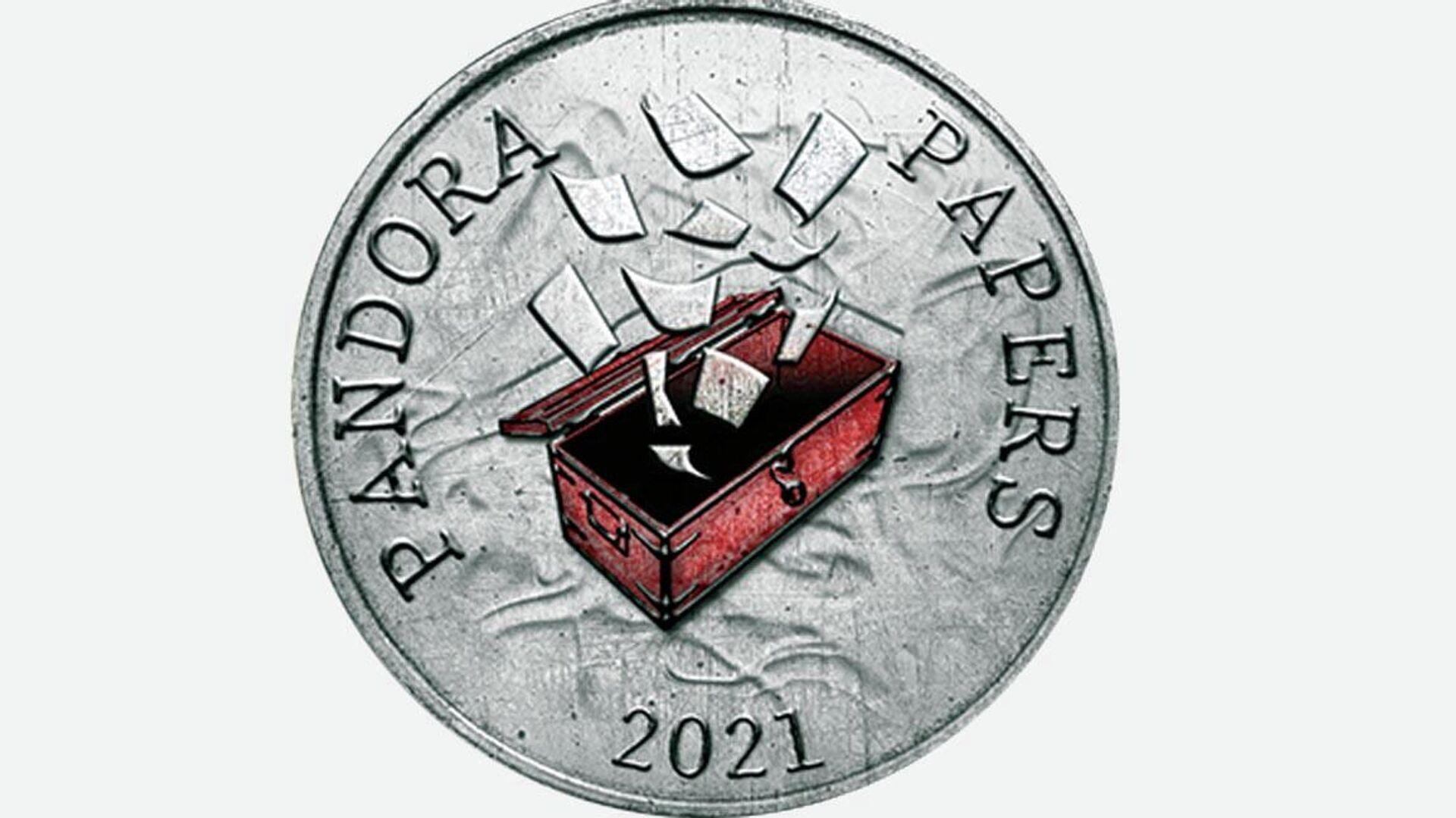 Pandora Papers logo - Sputnik International, 1920, 06.10.2021