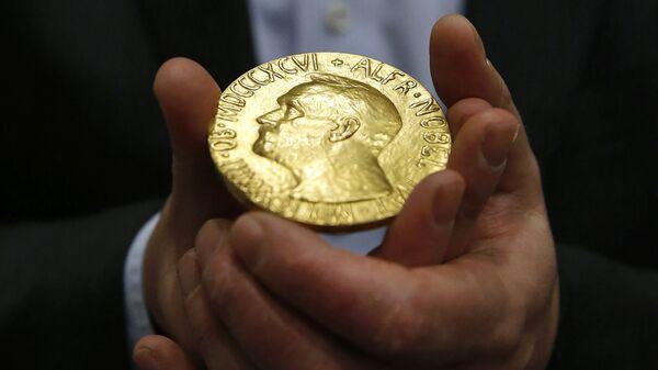 Медаль Нобелевской премии мира в Балтиморе - Sputnik International
