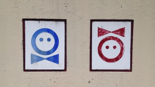 Gender signs - Sputnik International