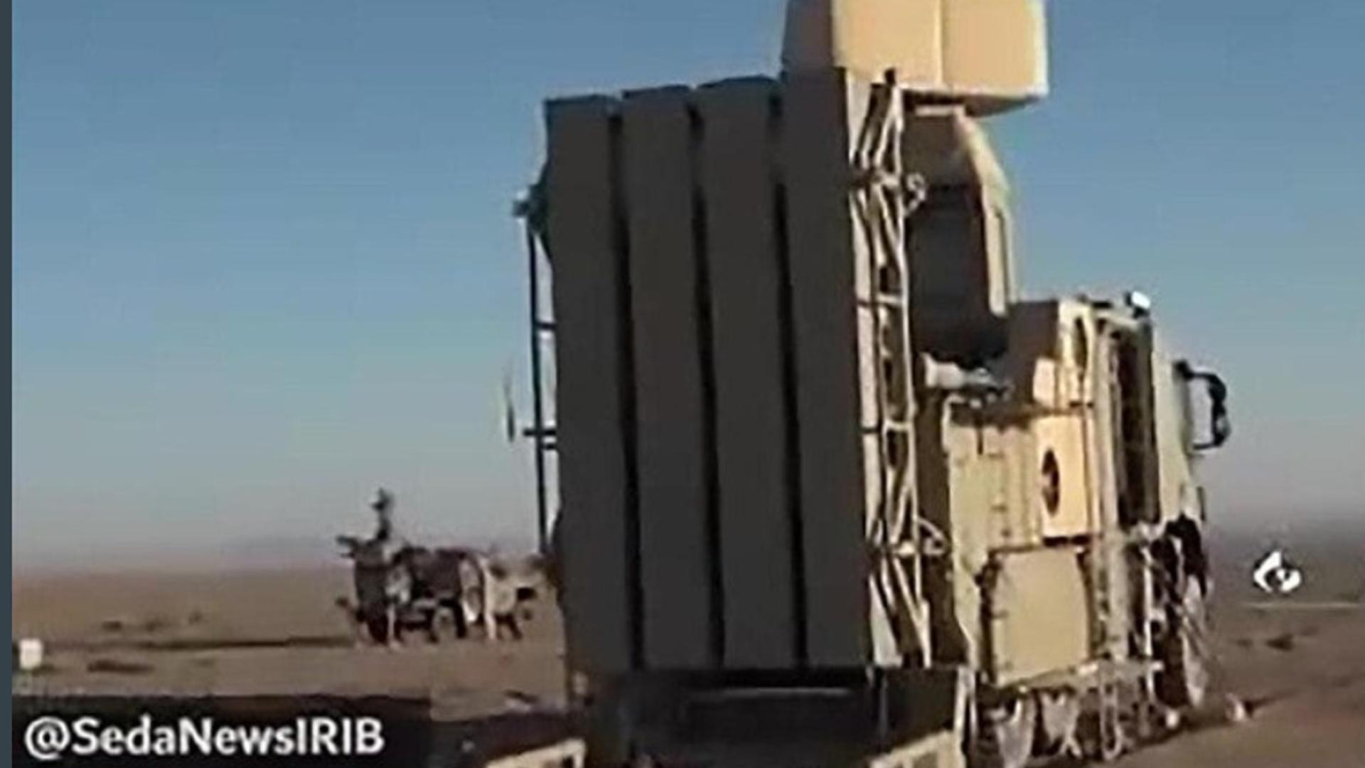 Mystery Iranian vertical launch air defence system. - Sputnik International, 1920, 13.10.2021
