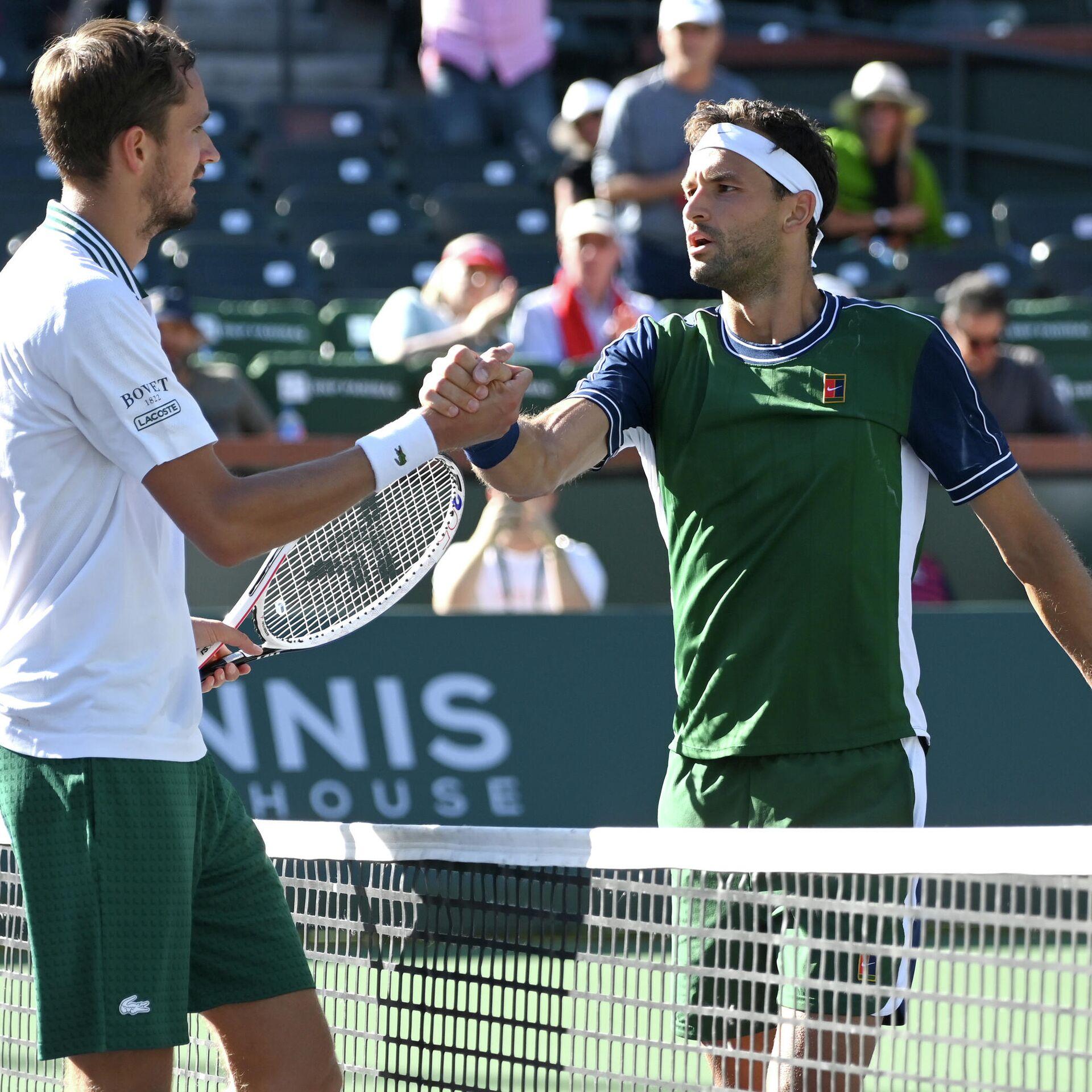 Memes Go Viral as Grigor Dimitrov Shocks US Open Champion Daniil Medvedev  at Indian Wells - 14.10.2021, Sputnik International