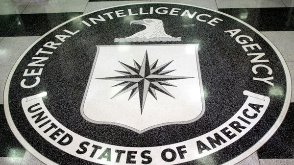 FILE PHOTO: The logo of the U.S. Central Intelligence Agency is shown in the lobby of the CIA headquarters in La.. - Sputnik International