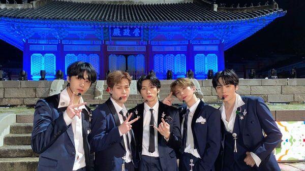 Super K-Pop Boy Band Monsta X Gearing for Comeback This November - Sputnik International