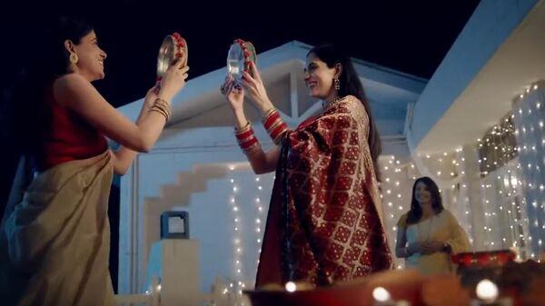 Fem Ad on Karwa Chauth   Dabur Fem Controversial Ad   Viral Video - Sputnik International
