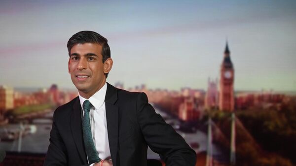 Britain's Chancellor of the Exchequer Rishi Sunak appears on BBC's 'The Andrew Marr Show' - Sputnik International