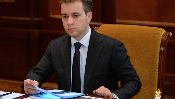 Russian Minister of Communications and Mass Media Nikolai Nikiforov - Sputnik International