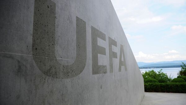 A four-way meeting between Football Union of Russia, Football Federation of Ukraine, UEFA and FIFA was held at UEFA headquarters in Nyon, Switzerland - Sputnik International