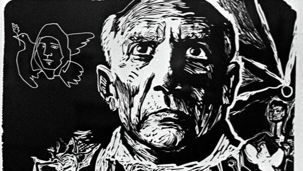 Portrait of Pablo Picasso - Sputnik International