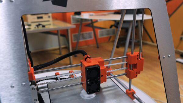 3D printer - Sputnik International