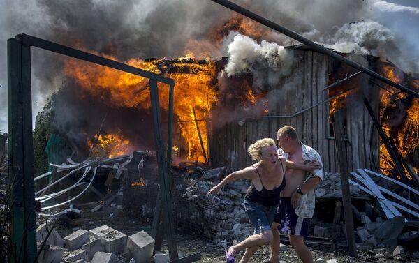 Situation in the Luhansk region - Sputnik International