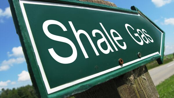 Shale Gas Sign - Sputnik International
