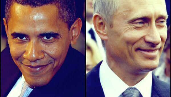 US President Barak Obama, Russian President Vladimir Putin - Sputnik International