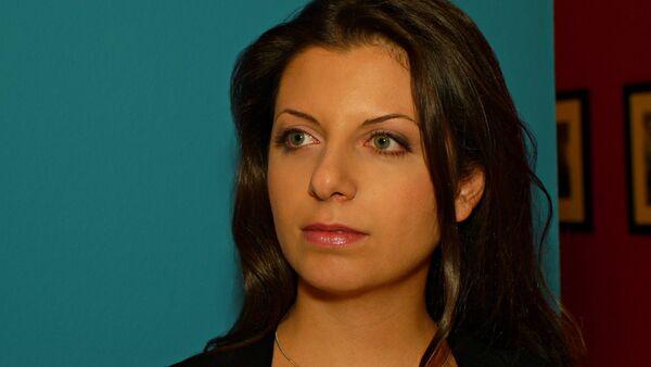 RT's editor-in-chief Margarita Simonyan - Sputnik International