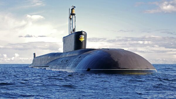 Russia's Alexander Nevsky nuclear submarine - Sputnik International