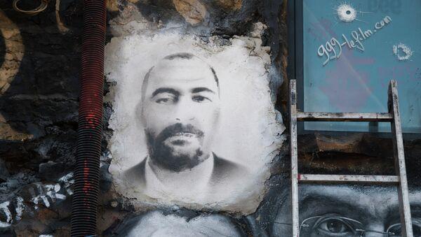 Painted portrait of Abu Bakr al-Baghdadi - Sputnik International
