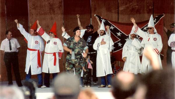 Ku Klux Klan Meeting in Boca Raton, Florida - Sputnik International