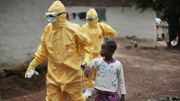 Struggle against Ebola - Sputnik International
