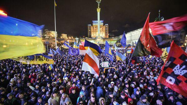Euromaidan: One Year After - Sputnik International