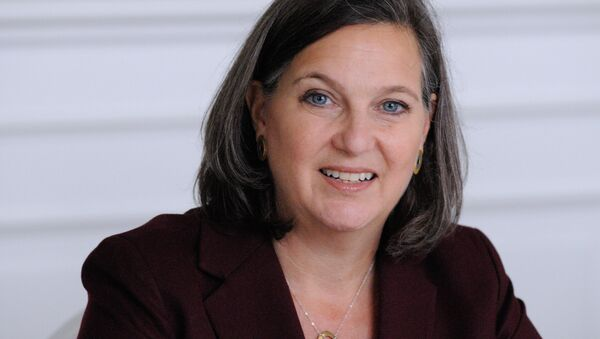 US Assistant Secretary of State for European and Eurasian Affairs Victoria Nuland confirmed Tuesday that if the Minsk agreements are fully implemented, the United States could lift a number of sanctions against Russia. - Sputnik International