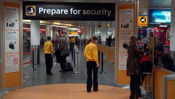 Airport security - Sputnik International