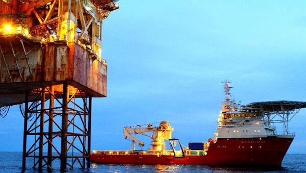 North Sea oil rig - Sputnik International