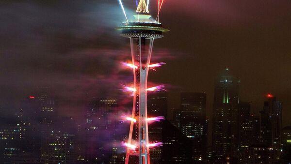 New Year celebrations in Seattle, America - Sputnik International