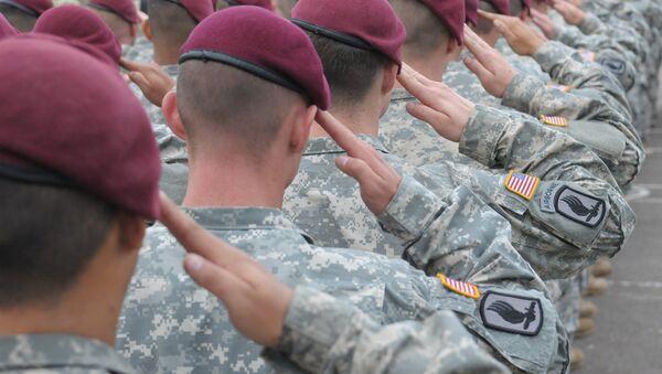 US paratroopers - Sputnik International